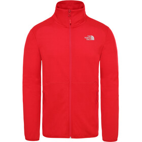 The North Face Quest Giacca con zip frontale Uomo, rosso